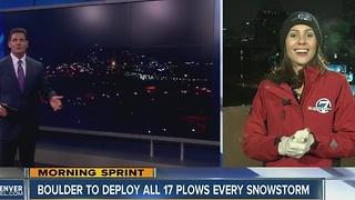 Cold weather live shot - Video