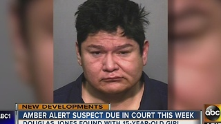Amber Alert suspect due in court this week after arrest Monday - Video