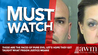 These Are The Faces Of Pure Evil. Let's Hope They Get Taught What Prison Justice Means - Video