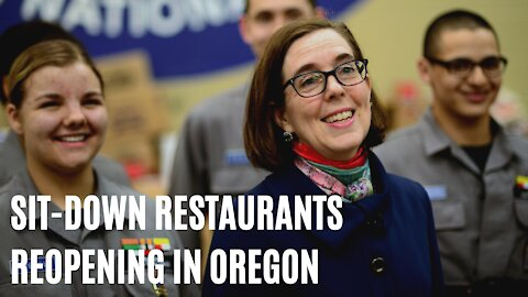 You Can Go To Sit-Down Restaurants Again This Weekend, Says Oregon Gov. Kate Brown