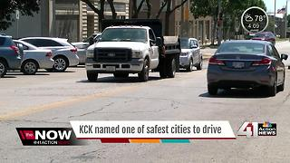 REPORT: KCK is safest city to drive in - Video