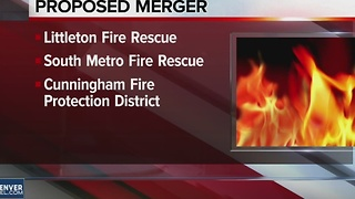 Fire departments propose merger - Video