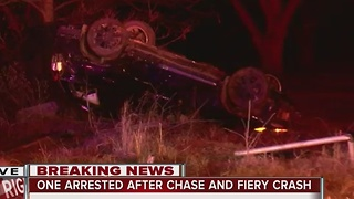 Suspect arrested after high speed chase in Washington County - Video