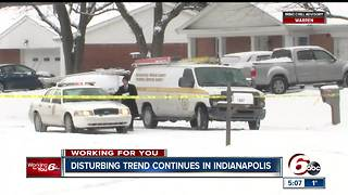Disturbing trend of violence continues in Indianapolis as 2017 ends with record-high homicides - Video