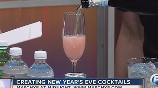 Create a New Year's Eve cocktail - Video