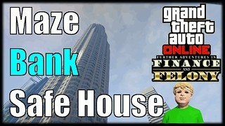 GTA 5 Online Finance And Felony Maze Bank Tower Office Showcase - Video
