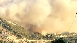 Wildfires Cause Havoc in Croatia, Threatening Suburbs of Split - Video