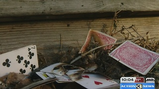 Family loses everything in house fire, mementos salvaged - Video
