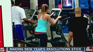 Making New Year's Resolutions Stick - Video
