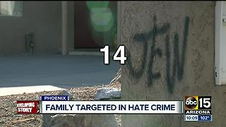 Couple returns from vacation to find anti-Semitic vandalism