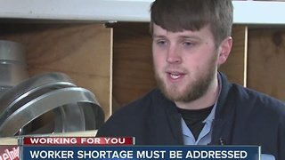Heating and cooling workers needed in Indianapolis - Video