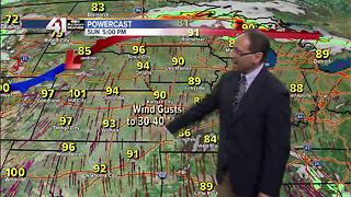 Jeff Penner Saturday Afternoon Forecast Update 6 10 17 - Video