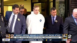 Insanity defense weighed in deadly NYC racial attack - Video