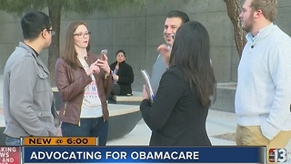 Affordable Care Act supporters advocate for law - Video