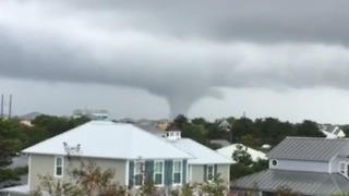 Waterspout Spins Over Destin, Florida - Video