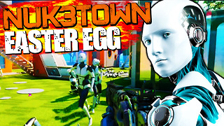 Black Ops 3: NUK3TOWN secret mannequin Easter egg - Video