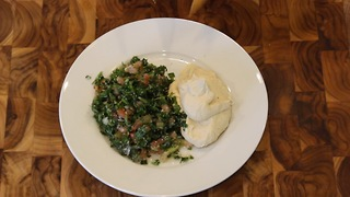 Delicious hummus and tabbouleh recipe