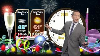 Las Vegas New Year's Eve weather forecast - Video