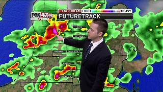 Dustin's Forecast 7-6 - Video