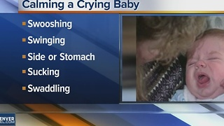 Calming a Crying Baby - Video