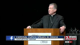 Cardinal Cupich returns to Omaha for fundraiser - Video
