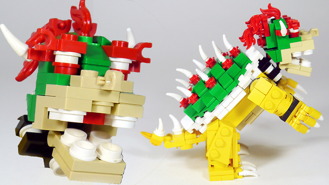 How To Build Lego Bowser