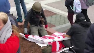 Antifa Identified at DC Capitol Acting as a Trump Supporter