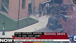 Ohio State Attack- Students talk to Tara Molina - Video