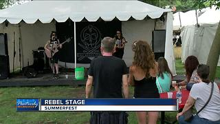 Summerfest Rebel Stage thrives only on volunteers - Video