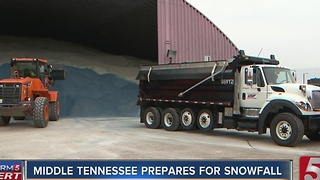 Winter Weather Advisory Issued For Middle Tenn. - Video