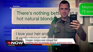 Husband that exposed affair between his wife and FHP trooper fears reprisals, intimidation - Video