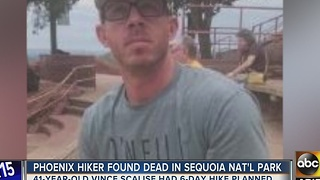 Valley father speaks after son found dead in Sequoia National Park - Video
