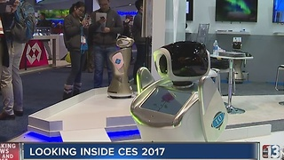 Robots highlighted at CES 2017 - Video