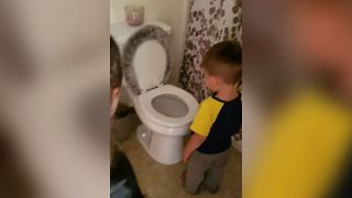 Dad Pulls Adorable Prank On Son - Video