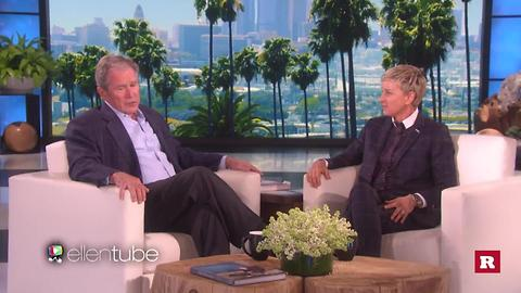 President George W. Bush on Ellen