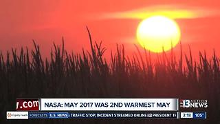 May 2017 2nd warmest on record - Video