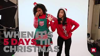 Generation Gap's countdown to Christmas: 5 Days - Video