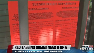 Red tag program helps neighborhood near U of A