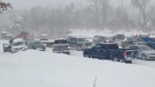 Large Pileup Shuts Down Highway Near Muskegon - Video