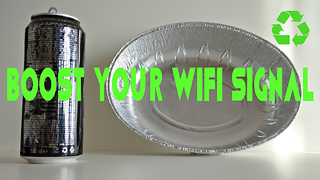 How To Boost and Extend Wifi Signal Less Than 1$ - Video