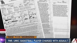 Former UMKC basketball player Martez Harrison charged with assault - Video