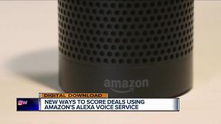 How you can score exclusive deals using Amazon's Alexa voice service - Video