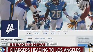 It's official: Chargers leaving San Diego, joining Rams in Los Angeles - Video