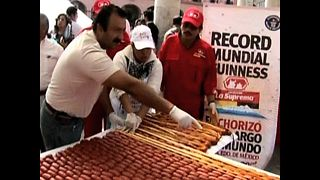 1-Kilometer Mexican Sausage - Video