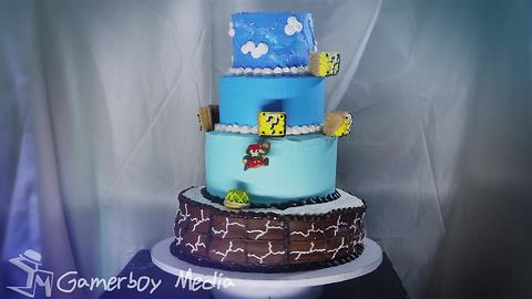 Check Out This Delicious Stop Motion Film Of Super Mario Cake