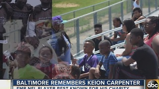 Keion Carpenter remembered for his philanthropy, charitable work - Video
