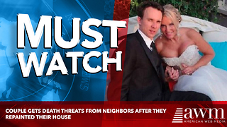 Couple Gets Death Threats From Neighbors After They Repainted Their House - Video