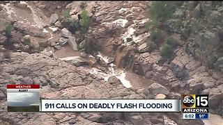 911 calls released in deadly Payson flooding - Video