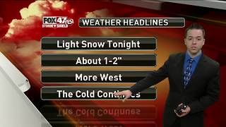 Dustin's Forecast 12-29 - Video