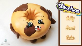 Shopkins/Petkins Dolly Donut cake: How to make from Creative Cakes by Sharon - Video